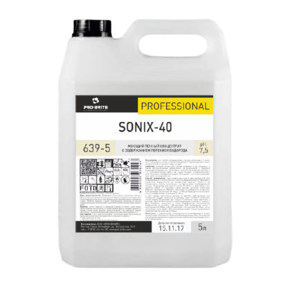 SONIX-40 Моющий концентрат с содержанием перекиси водорода 5л