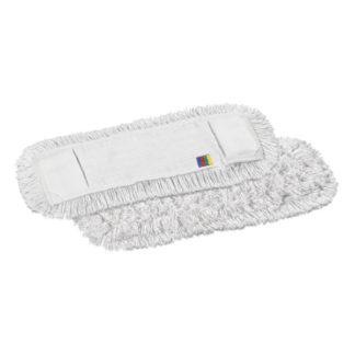 Моп TTS с кармашками, полиэстер-хлопок, 40 см., белый