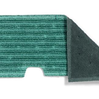Моп TTS двухсторонний, микрофибра, гладкие поверхности и просушка (голубой+серый)