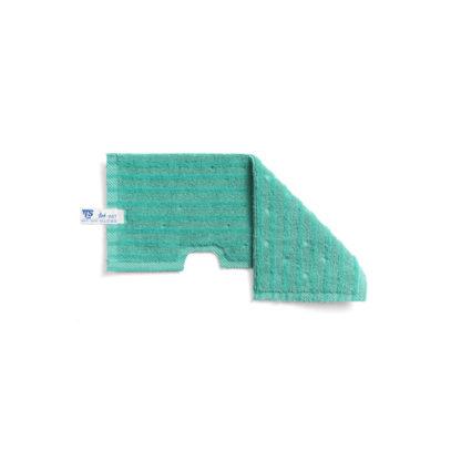 Моп TTS двухсторонний, микрофибра для гладких поверхностей, 47*18,5 (зеленый)