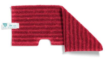 Моп TTS двухсторонний, микрофибра, (красный)