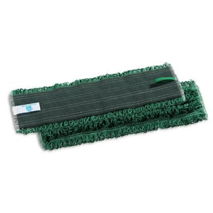 Моп TTS Microriccio, на липучках, микрофибра, 40 см., зеленый