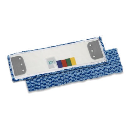 Моп TTS Microsafe, с держателями, микрофибра, 40 см., синий