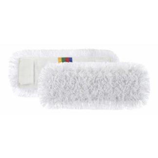 Моп TTS с кармашками, полиэстер-хлопок, 50 см., белый