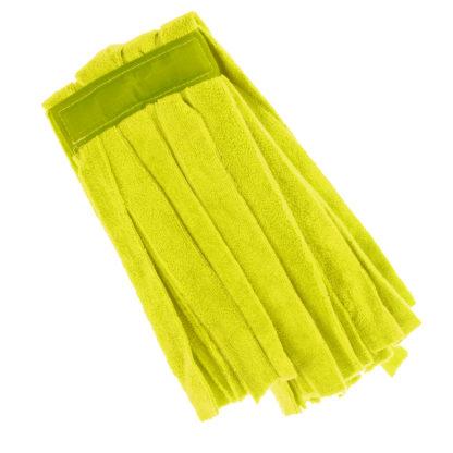 Моп «Кентукки» TTS микрофибра, без прошивки, 250 гр., желтый