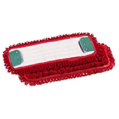 Моп TTS Microriccio, с держателями, микрофибра, 40 см., красный