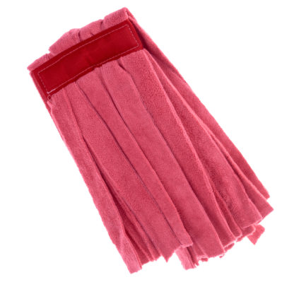 Моп «Кентукки» TTS микрофибра, без прошивки, 250 гр., красный