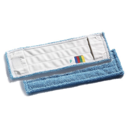 Моп TTS Microblue, с кармашками, микрофибра, 40 см., синий