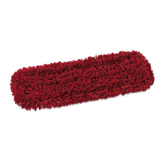 Моп TTS Microriccio, с кармашками, микрофибра, 40 см., красный
