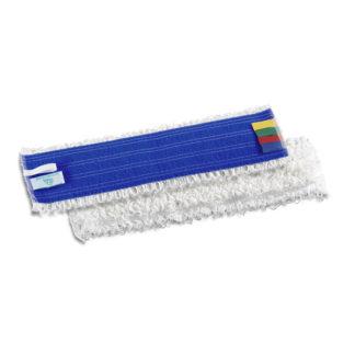 Моп TTS Microriccio, на липучках, микрофибра, 40 см., белый