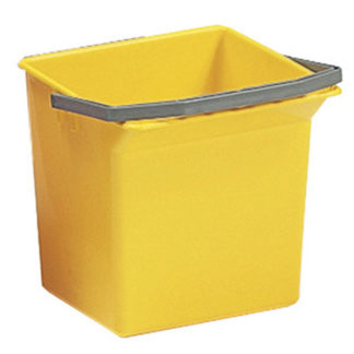 Ведро TTS Moplen, 6 л., желтое