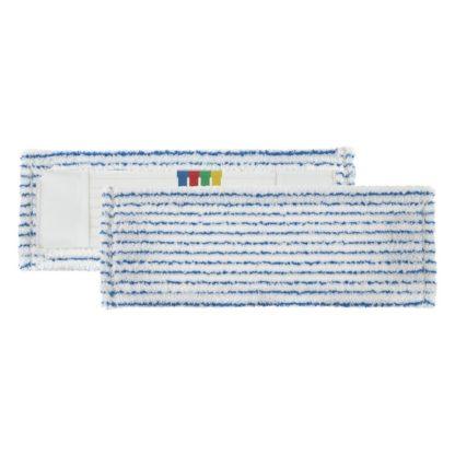Моп TTS Soft Striat, с кармашками, микрофибра, 40 см., белый