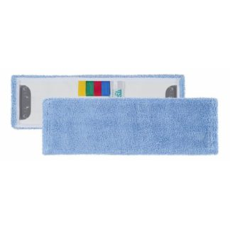 Моп TTS Microblue Uni System, c держателями, микрофибра, 40 см., синий
