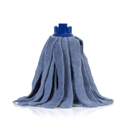 Моп «Кентукки» TTS микрофибра, с резьбовым держателем, 300 гр., синий