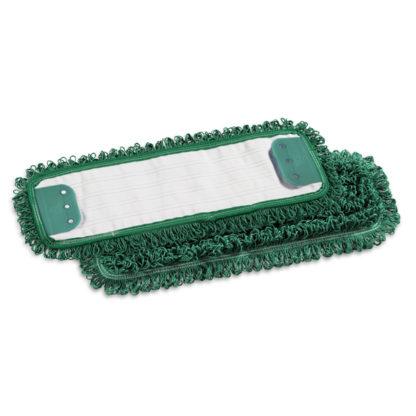 Моп TTS Microriccio, с держателями, микрофибра, 40 см., зеленый