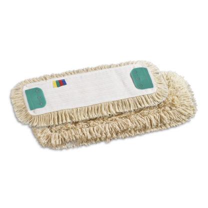 Моп TTS с держателями, полиэстер-хлопок, 40 см., белый