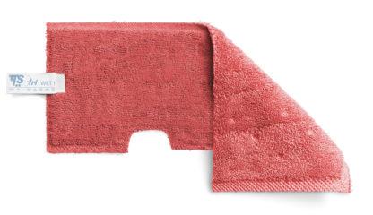 Моп TTS двухсторонний, микрофибра для гладких поверхностей, красный