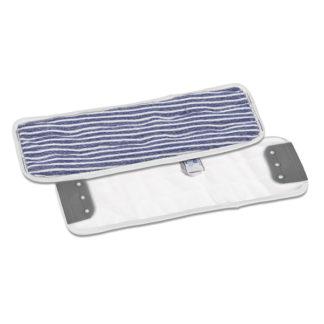 Моп TTS Eco, с держателями, микрофибра, 40 см., белый-синий