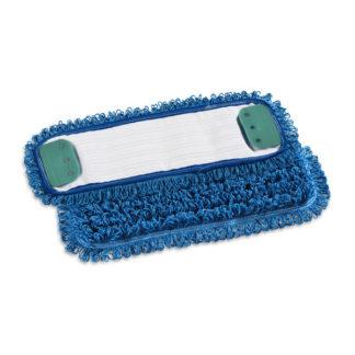 Моп TTS Microriccio, с держателями, микрофибра, 40 см., синий