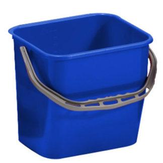 Ведро TTS Moplen, 12 л., синее
