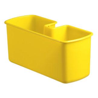 Желтый контейнер под аксессуары