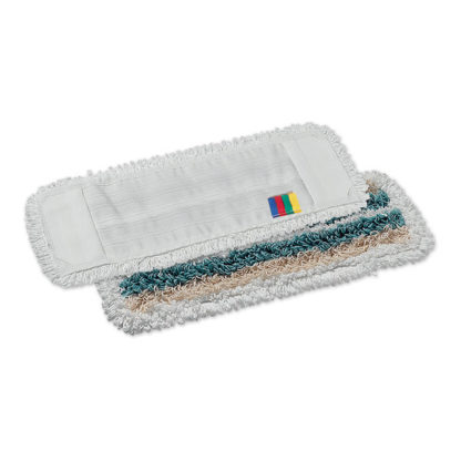 Моп TTS Tris, с кармашками, микрофибра-полиэстер-хлопок, 50 см., белый