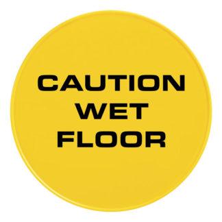 Табличка «Осторожно мокрый пол» на английском языке