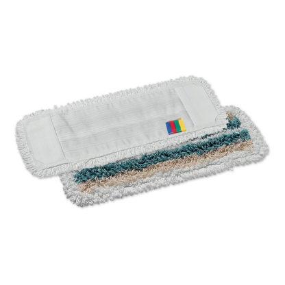 Моп TTS Tris, с кармашками, микрофибра-полиэстер-хлопок, 40 см., белый