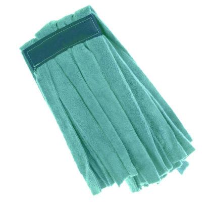 Моп «Кентукки» TTS микрофибра, без прошивки, 250 гр., зеленый