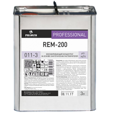 REM-200 средство для мытья стен и полов в технических и ремонтных зонах 3л