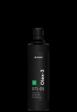OLEX-3 For Leather очиститель-кондиционер для изделий из гладкой кожи 0,5л