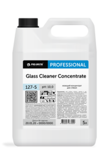 GLASS CLEANER Concentrate моющий концентрат для стёкол и зеркал 5л