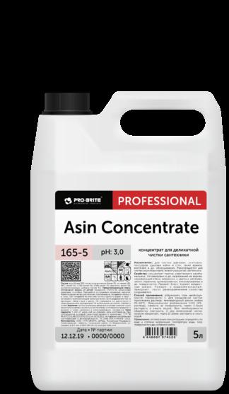 ASIN Concentrate концентрированное средство для деликатной чистки сантехники 5л