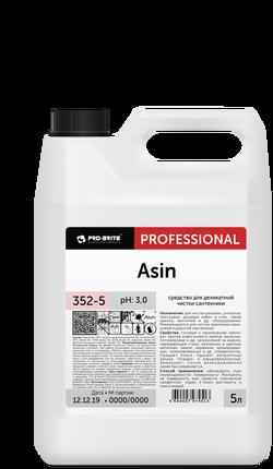 ASIN средство на основе фруктовой кислоты для деликатной чистки сантехники 5л