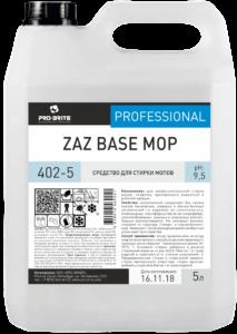 ZAZ Base Mop средство для стирки МОПов 5л