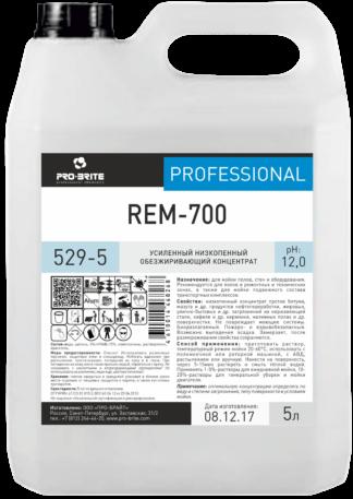 REM-700 средство для уборки ремзон и СТО 1л